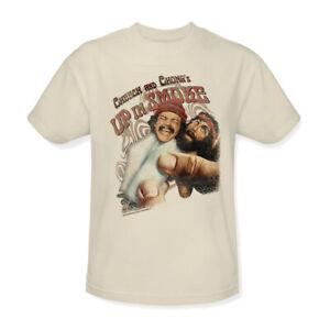 Cheech-amp-Chong-Up-in-Smoke-T-shirt-retro-70-039-s-movie-cotton-graphic-tee-PAR136