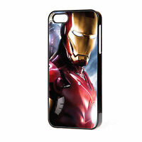 NEW IRON MAN  PHONE CASE  FITS IPHONE 4 4S 5 5S 5C 6 FREE P&P IRONMAN AVENGERS