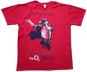 AEG-Live-LLC-sous-licence-Bravado-mercha-Michael-Jackson-King-de-Pop-tee-shirt