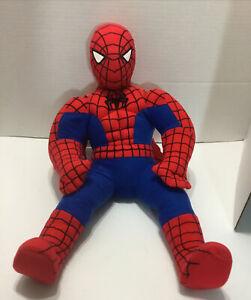 "Marvel Spiderman Plush Stuffed Doll Toy 14/""  NWT Birthday Gift"