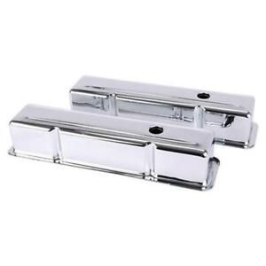 Small-Block-Chevy-Tall-Chrome-Valve-Covers