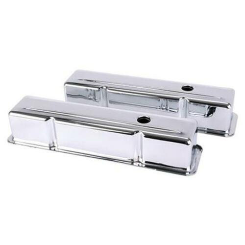 Small Block Chevy Tall Chrome Valve Covers
