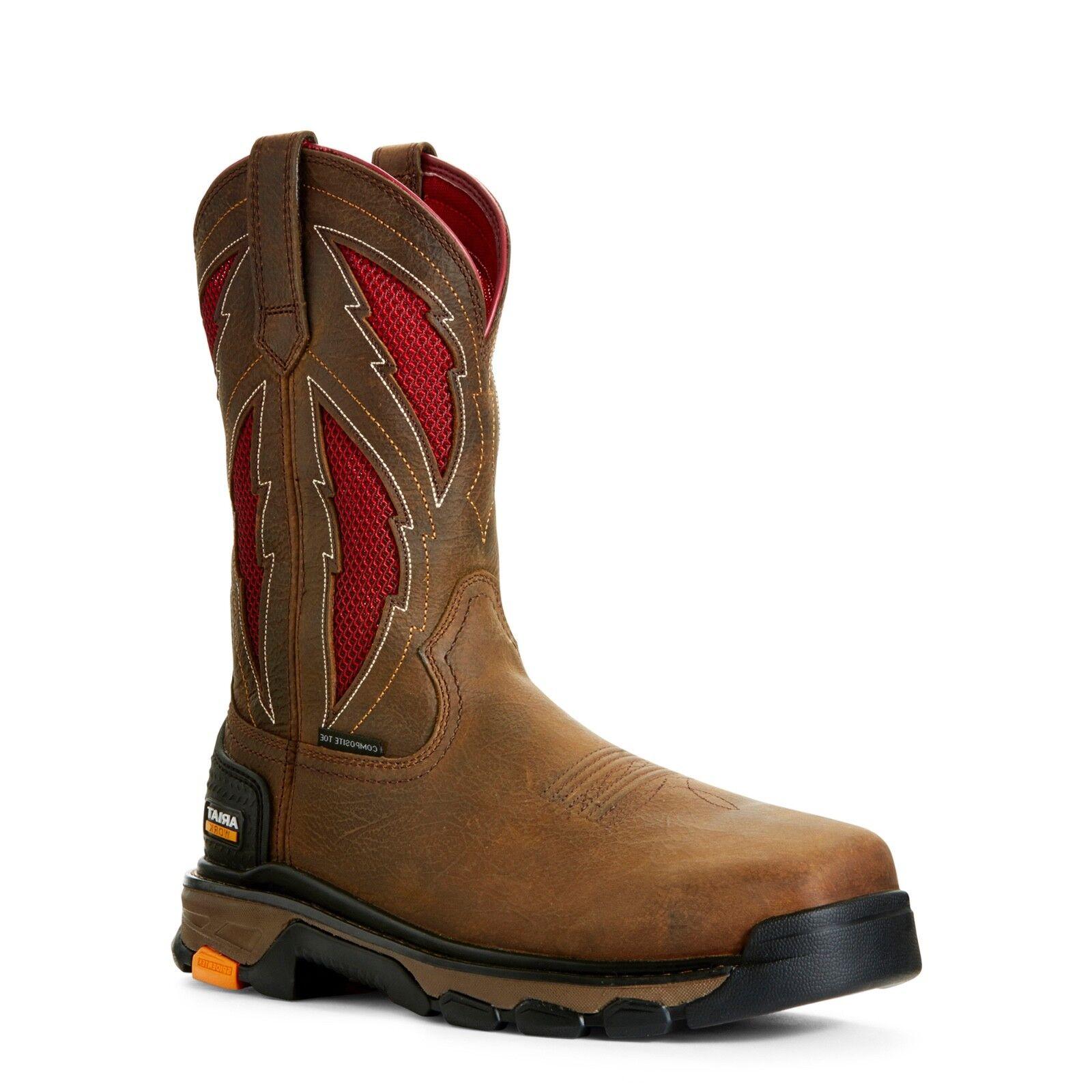 Ariat® Men's Intrepid VentTEK Lightning Safety Toe Work stivali 10027299
