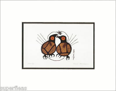 NORVAL MORRISSEAU Woodlands Art Print SERENITY ~ smp
