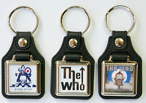 The Jam Target  Paul Weller  Mods Mod Set 2 MOD KEY RINGS Target Keyring