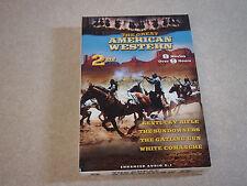 The Great American Western 8 Movies 2 DVD Savage Guns Gatling Gun