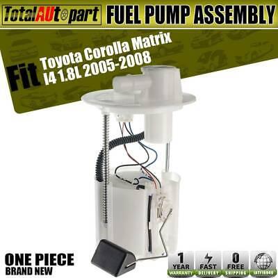 Fuel Pump Assembly Fits 2005 2006 2007 2008 Toyota Corolla Matrix L4 1.8L E8874M
