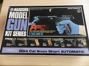 Marushin-1-1-Beretta-M84-Cal-9mm-Short-Automatic-Ignition-Type-Model-Kit-NEW