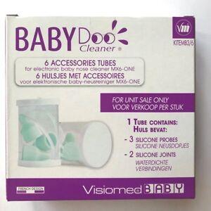 Visiomed-Baby-doomx-6-ONE-6-Accessori-per-tubi-per-naso-elettronico-BABY-Aspiratore