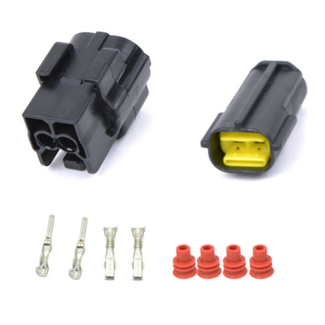 2/4/8/10/12Pin Way Car 1.8mm Waterproof Auto Electrical Wire Plug Connector New