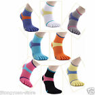 5 Pair new cotton women cotton toe socks five fingers socks Color random