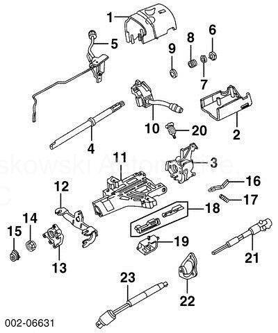 Ford Oem Steering Shaft 7l5z3e751a Image 12 For Sale Online