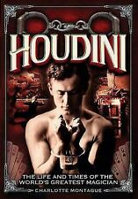Houdini : The Life and Times of the World's Greatest Magician by Charlotte Montague (2017, Hardcover)