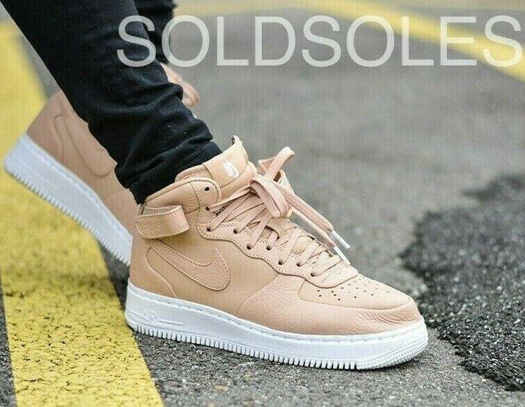 Nike Air  Force 1 Vacheta Tan Mid  migliori prezzi e stili più freschi