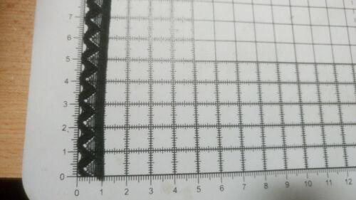 3m Black Lace Trim for finishing Edge width-11mm