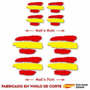 8-X-BANDERA-DE-ESPANA-VINILO-ADHESIVO-PEGATINA-STICKER-COCHE-MOTO-CASCO-TUNING