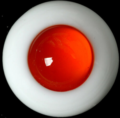New 8MM NoPupil Red Glass BJD Eyes for DOD DZ AOD Volks Luts BJD Doll