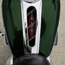 Laminated Gas Tank Dash Console Insert 10-15 Road Glide