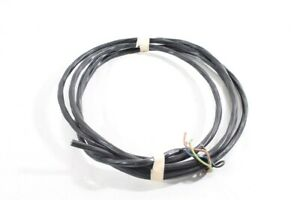 11-10-12ft-Old-Cable-Black-Power-Cord-4x2-5-Twisted-Ap-Bakelite-Switch-Outlet