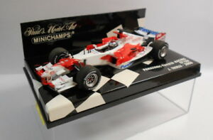 Minichamps-Escala-F1-1-43-400-060008-Panasonic-Toyota-Racing-TF106-J-Trulli