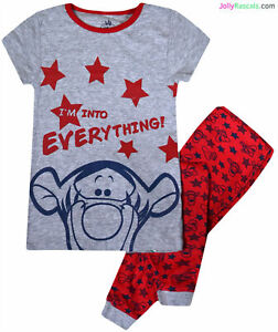 aa5ea4162 Baby Boys Pyjama Set Disney Tigger Pajama New Cotton Nightwear Age 9 ...