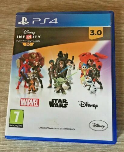 PS4 Disney Infinity 3.0 GAME SOFTWARE ONLY - - pas cher StarWars