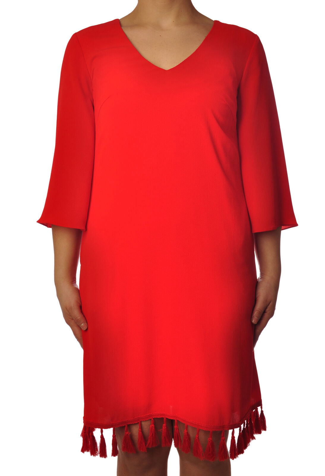 Traffic People - Dresses-Dress - Woman - Red - 5116906C195024