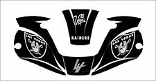 Miller Digital Elite 257213 Titanium Welding Helmet Wrap Decal Raiders Las Vegas
