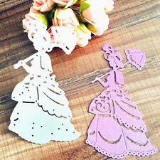 New Girl Metal Cutting Dies Stencil Scrapbooking Album DIY Embossing Card Craft