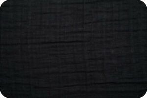 Shannon-Fabrics-Embrace-Double-Gauze-Black-Solid-by-the-yard