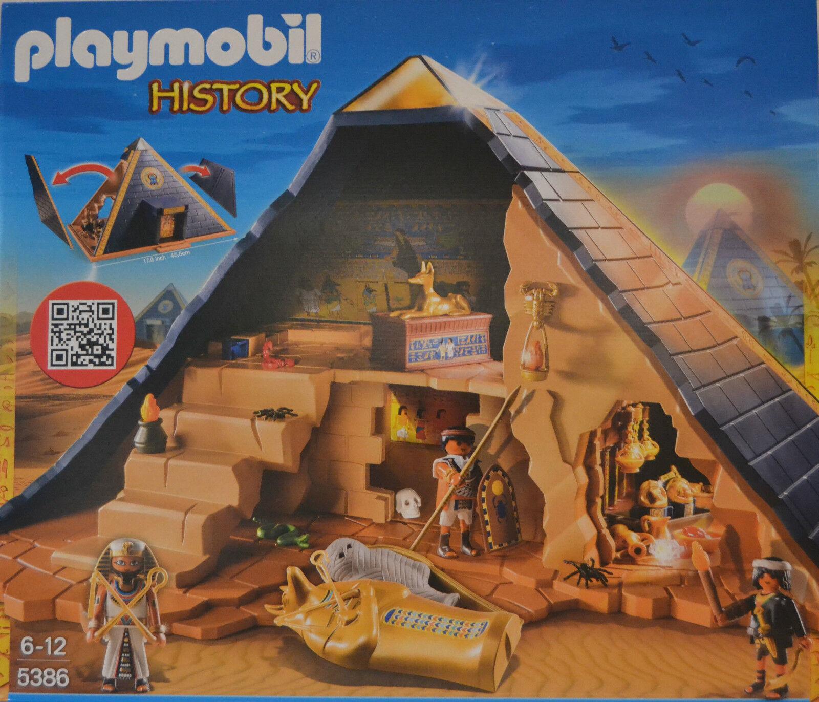 Playmobil 5386 Pyramide des Pharao mit Figuren Neu & OVP
