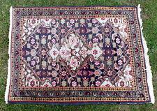 petit tapis mauve vert  106 x 74 cm (5)