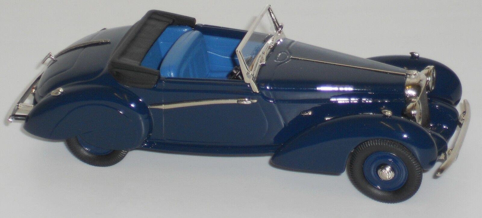 Ldm78a lagonda v12 vantage lansdowne - 1939 drophead coupé 1 43 weißes metall