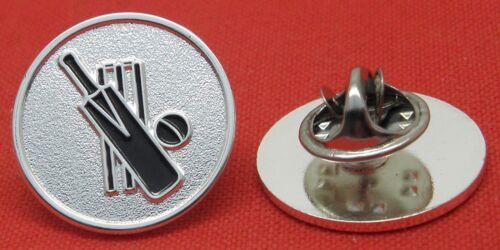 Cricket Lapel Hat Cap Tie Pin Badge Bat Wicket /& Ball Gift Brooch