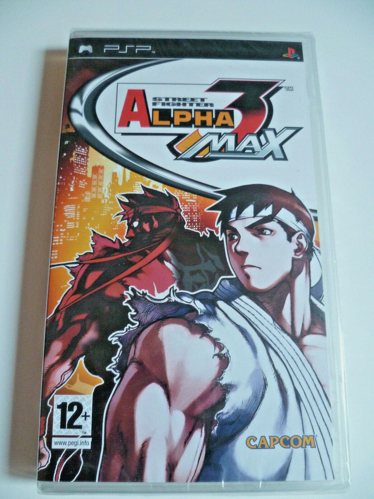 Street Fighter Alpha 3 PSP Euro FR New Sealed Rare Neuf
