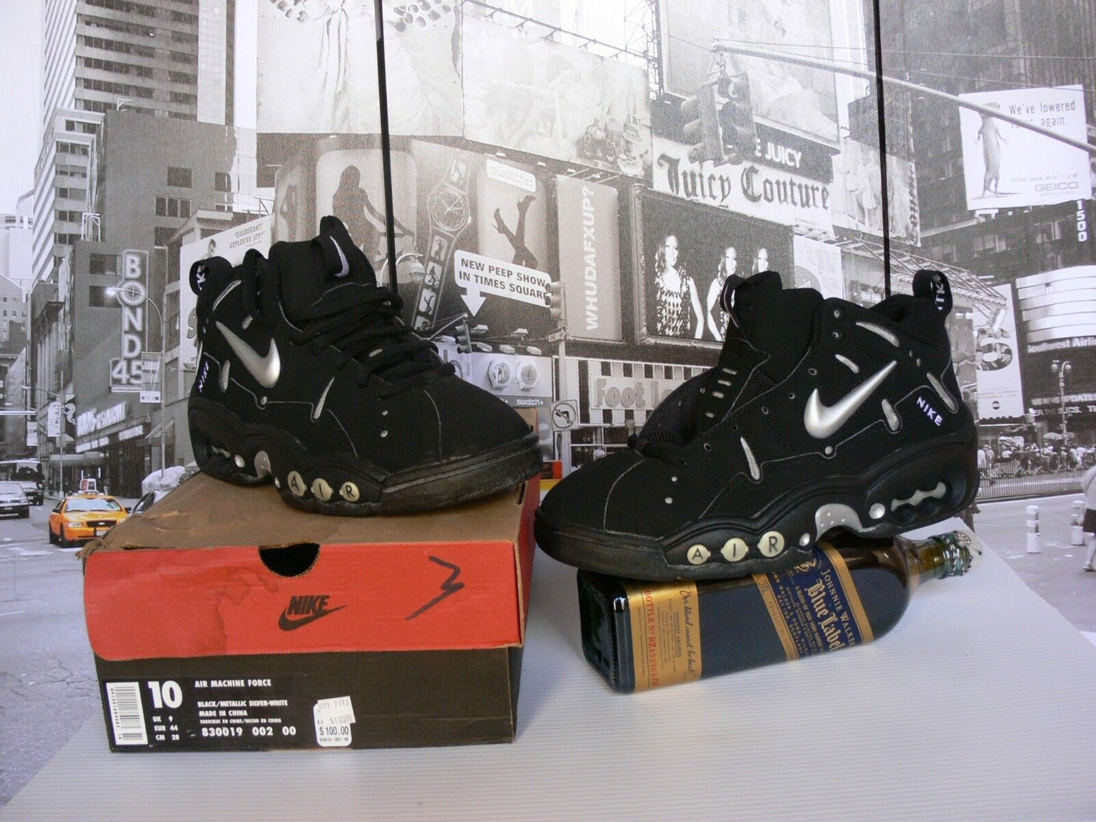 1997 NIKE MACHINE FORCE  OG SHOES  MEN'S US 10 / NEW WITH BOX Comfortable and good-looking