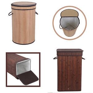 Bamboo-Laundry-Hamper-Basket-Clothes-Bin-Linen-Bathroom-Natural-Oriental-Decor