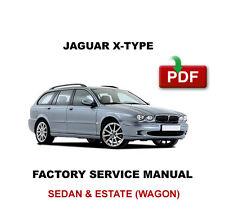 2001 2002 2003 2004 2005 2006 2007 2008 2009 JAGUAR X TYPE WAGON REPAIR MANUAL