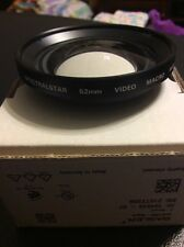 Spectralstar 52Mm Video Macro Wide Lens Japan Rare Vintage Camera Video Lens