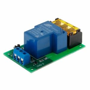 Details about 5V/12V/24V 30A Optocoupler Isolation Relay Board Module  High/Low Trigger