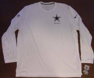 7678cf028 New Nike Dallas Cowboys NFL Football Dri-Fit long sleeve t-shirt ...