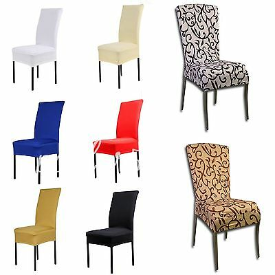 Spandex Chair Covers Kitchen Bar Dining Hotel Restaurant Wedding Party Decor