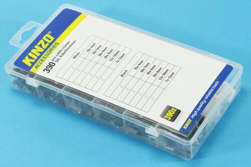 NEU Kabelklemmen Nagelschellen Kabel Ø 4-12mm 390 tlg Kabelschellen