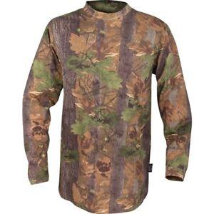 JACK PYKE LONG SLEEVE T-SHIRT MENS S-3XL ENGLISH OAK EVO CAMO HUNTING CLOTHING
