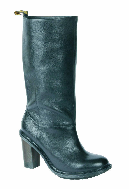 Dr Martens Slip On Stiefel Parisa Black 16138001 Original Classic Doc