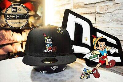 cef4727a0 New Era x Disney Pinocchio 59fifty Cap fitted size 7 3/8 | eBay