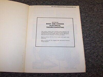 1983 Chevy El Camino Electrical Wiring Shop Service Manual ...