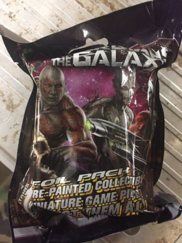 HeroClix Guardians Of The Galaxy 48-COMTE booster pack lot.