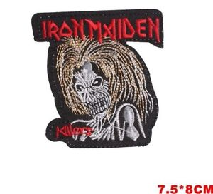 Iron Maiden sew on iron on patch