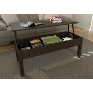 Terrific Details About Lift Top Coffee Table Living Room Stand Storage Shelf Brown Tv Tray Accent Home Unemploymentrelief Wooden Chair Designs For Living Room Unemploymentrelieforg